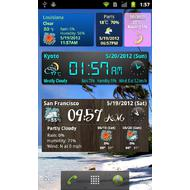 World Weather Clock Widget 6.009