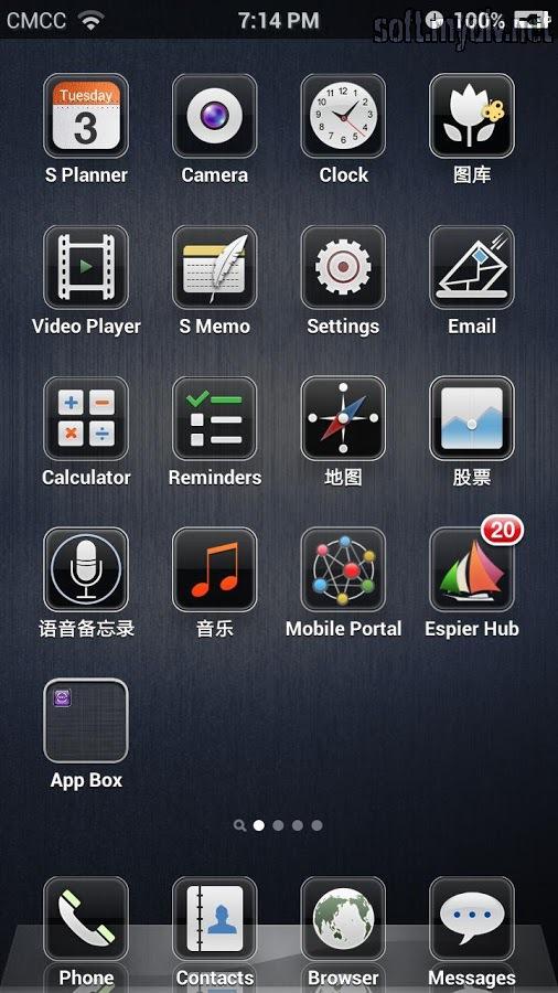 Скачать Полную Версию Iphone 4S Launcher Для Android