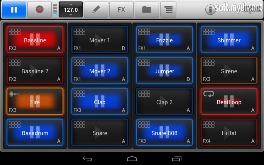 программа для создание музыки на андроид