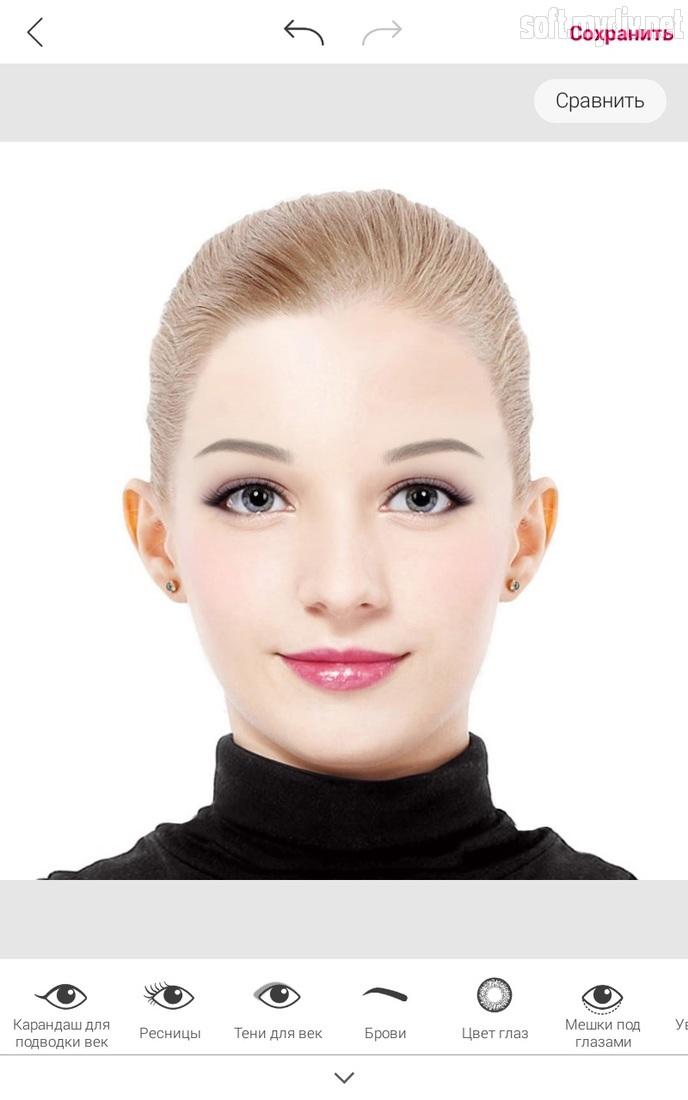 Программа для макияжа на фото скачать бесплатно