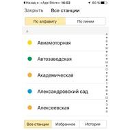 Список станций