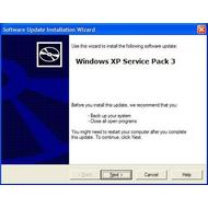Скриншот Windows XP Service Pack 3 Build 5512 FINAL
