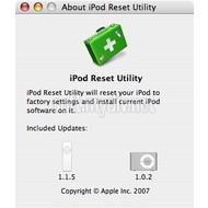 iPod shuffle Reset Utility 1.0.4.71