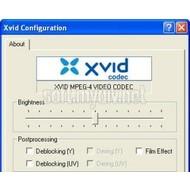 Скриншот XviD Media Codec 1.2.2