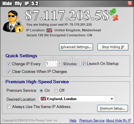 Скачать о программу подмены ip адреса