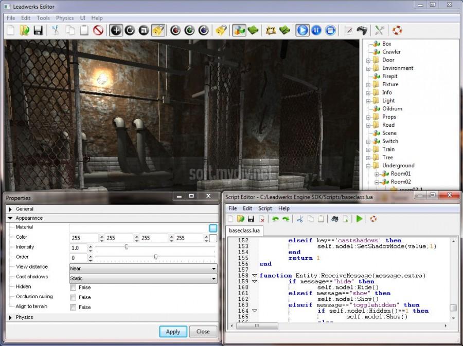Leadwerks Game Engine скачать торрент