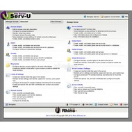 Скриншот Serv-U
