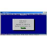 Скриншот Turbo Pascal 7.1