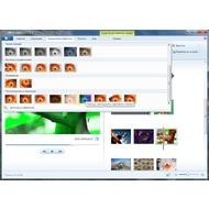Скриншот Киностудия Windows Live - визуальные эффекты разбиты по категориям и их довольно много