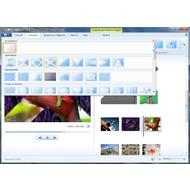 Скриншот Киностудия Windows Live - используйте анимации для того, чтобы создать эффектые переходы от слайда к слайду