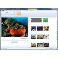 Скриншот Киностудия Windows Live - вкладка Проект и ее опции