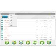 Скриншот Freemake Audio Converter - основное окно конвертера, список конвертируемых файлов