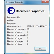 Скриншот OpenDocument (ODF) Viewer