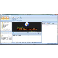 Скриншот Sothink SWF Decompiler