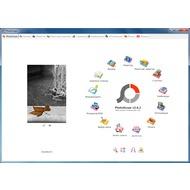 Скриншот PhotoScape - главное меню программы, через которое доступны все функции
