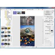 Скриншот PhotoScape - до этих пор одни поверхность комбинирования нескольких фотоснимок на одном