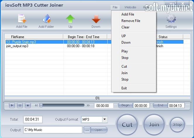 Скачать программу mp3 cutter на русском