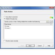 Скриншот ProxyCap - Мастер для создания правил