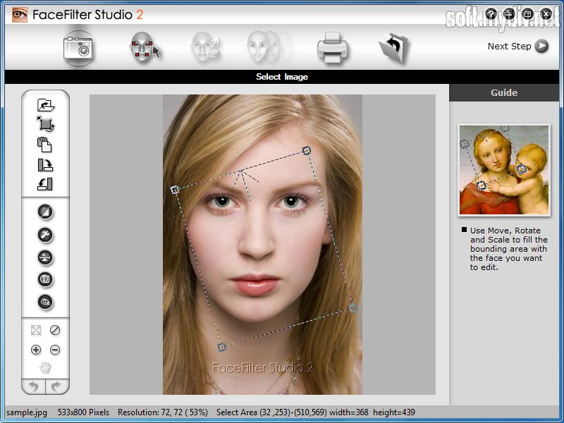 Face filter studio