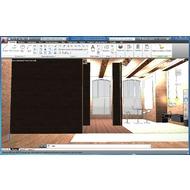 Скриншот AutoCAD 2013 - реалистичная 3D модель интерьера