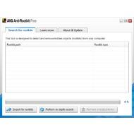 Скриншот AVG Anti-Rootkit