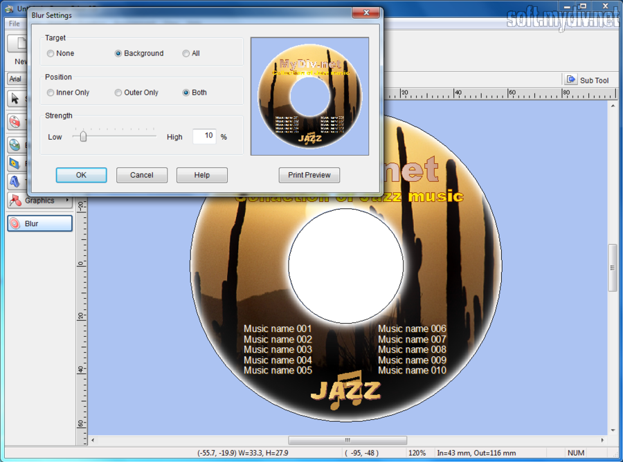Программа для печати на дисках на русском