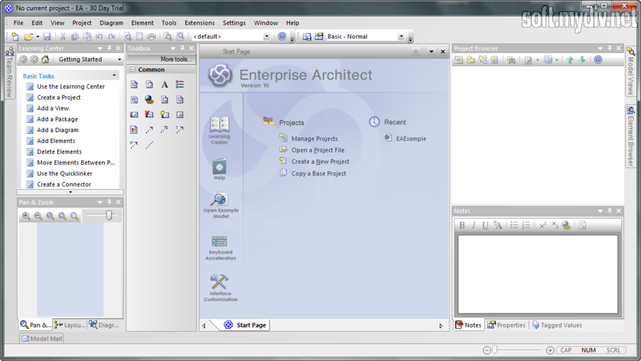 Enterprise architect 10 русскую версию