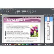 Скриншот Xara Web Designer