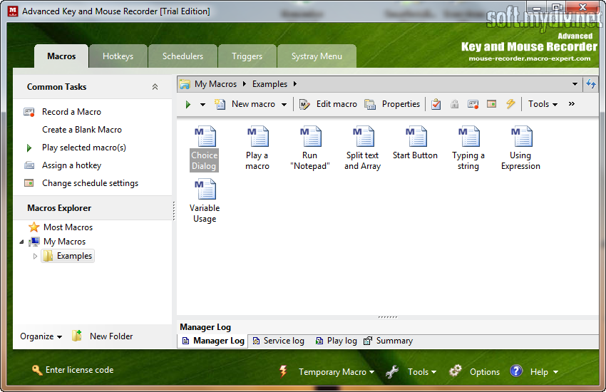 Advanced key and mouse recorder keygen