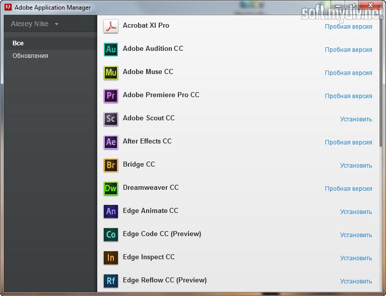 Adobe application manager скачать торрент