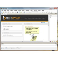 Скриншот FlashDevelop 4.4.3 RTM