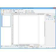 Скриншот OpenOffice.org  - программа Draw - векторных графический редактор