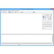Скриншот OpenOffice.org  - программа Math для создания формул