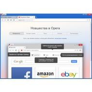 Скриншот Opera от Яндекс