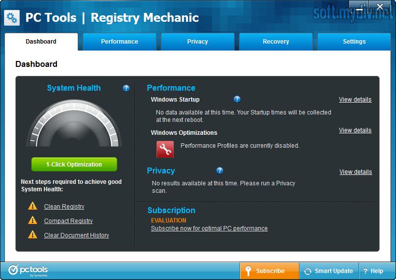 Скачать программу registry mechanic