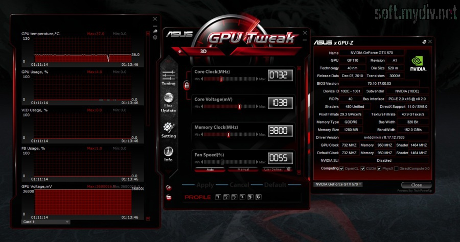 Cpu Tweak Asus инструкция