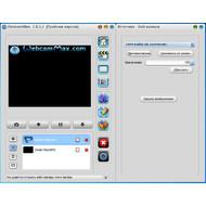 Настройки веб-камеры в WebcamMax 7.8.3.2