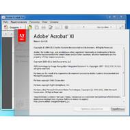 Версия программы Adobe Acrobat Pro XI 11.0.6