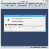 Скриншот SQLyog