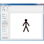 Главное окно Pivot Stickfigure Animator