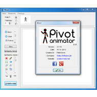 Версия программы Pivot Stickfigure Animator