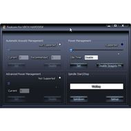 Скриншот HDDScan - регулирование IDE функции жесткого диска