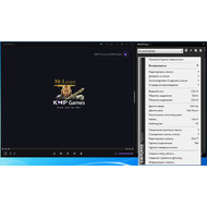 Настройки плейлиста во KMPlayer
