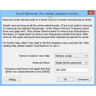 Скриншот Audacity - инструмент удаления шума