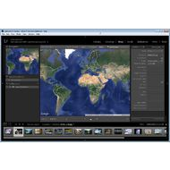 Скриншот Adobe Photoshop Lightroom - карт с помощью которой удобно устанавливать GEO-теги