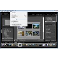 Скриншот Adobe Photoshop Lightroom - меню Help