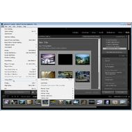 Скриншот Adobe Photoshop Lightroom - меню File