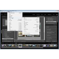 Скриншот Adobe Photoshop Lightroom - меню Window
