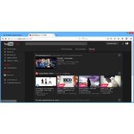 Популярный стиль YouTube
