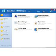 Windows 10 Manager 0.1.7 beta